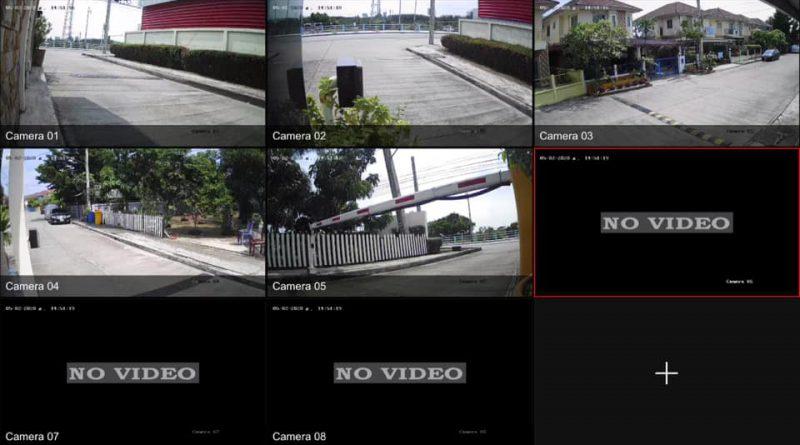 งานติดตั้งกล้องวงจรปิด หมู่บ้านลภาวัน ย่านนนทบุรี
